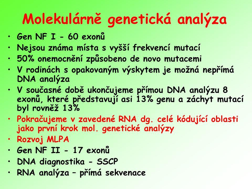 Molekulárně genetická analýza