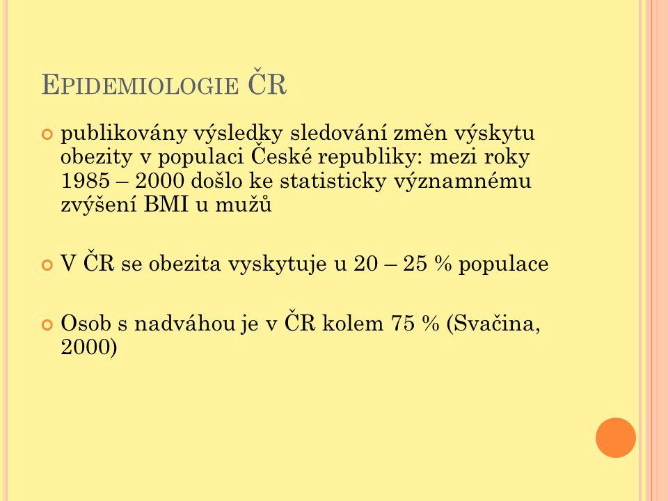 Epidemiologie ČR