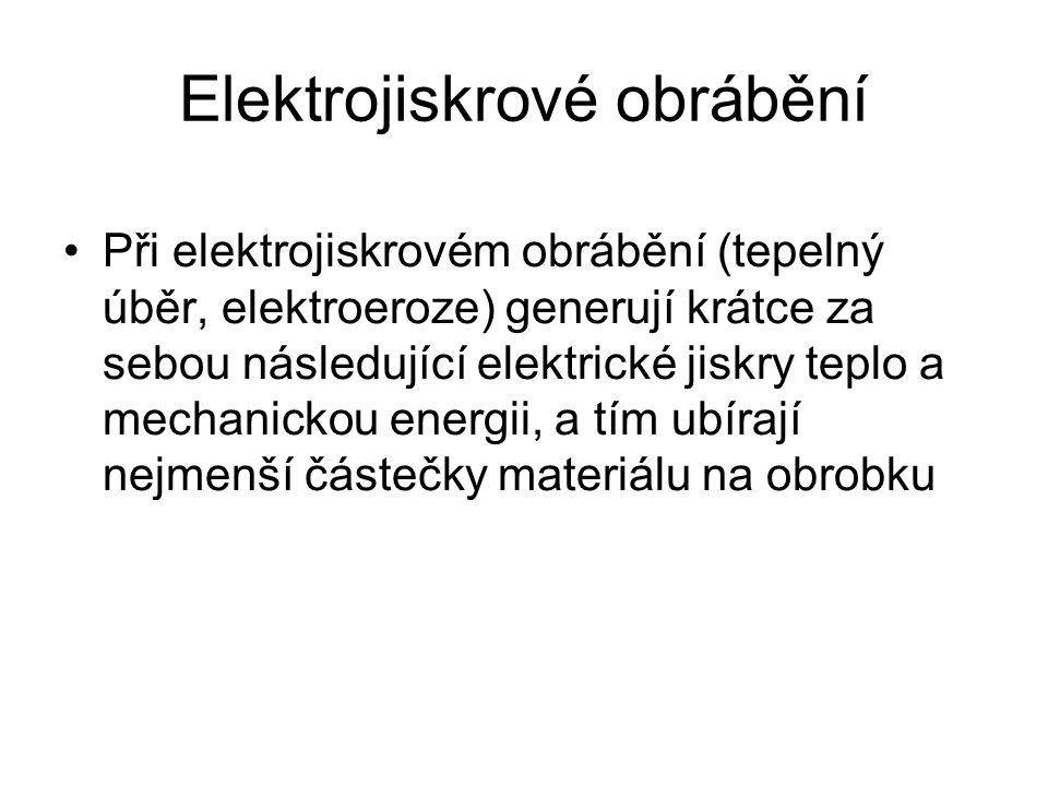 Elektrojiskrové obrábění