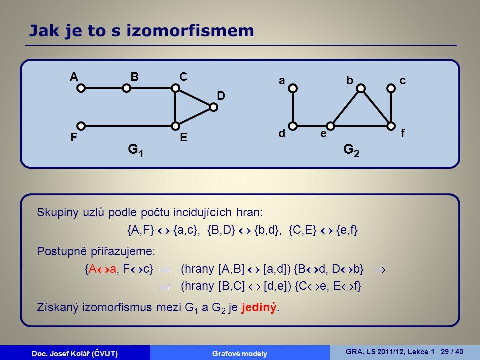 {A,F}  {a,c}, {B,D}  {b,d}, {C,E}  {e,f}