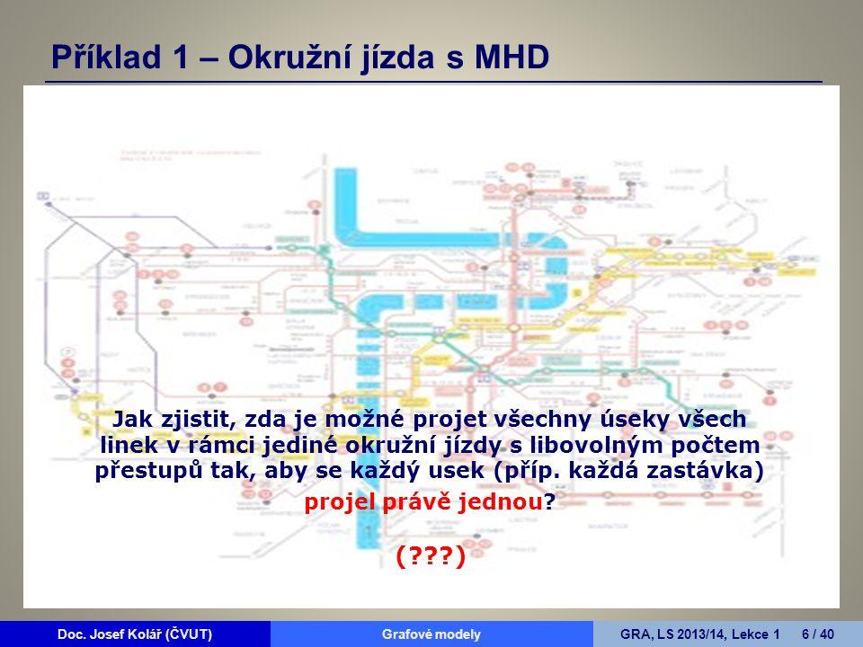 Příklad 1 – Okružní jízda s MHD