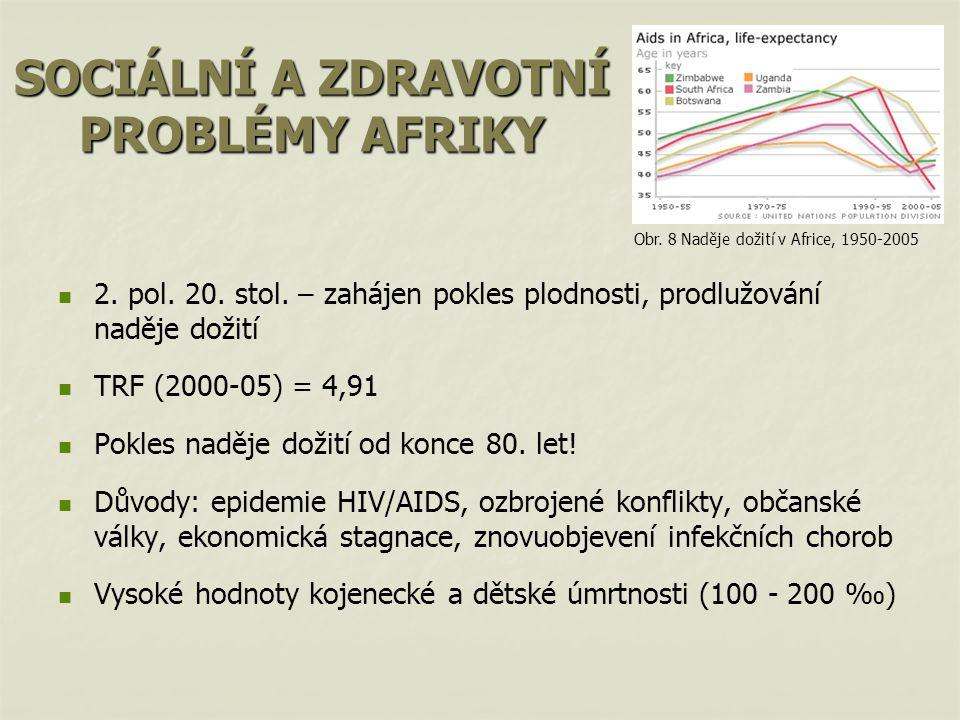 SOCIÁLNÍ A ZDRAVOTNÍ PROBLÉMY AFRIKY