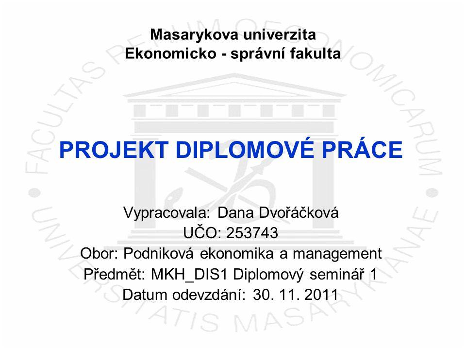 Masarykova univerzita Ekonomicko - správní fakulta