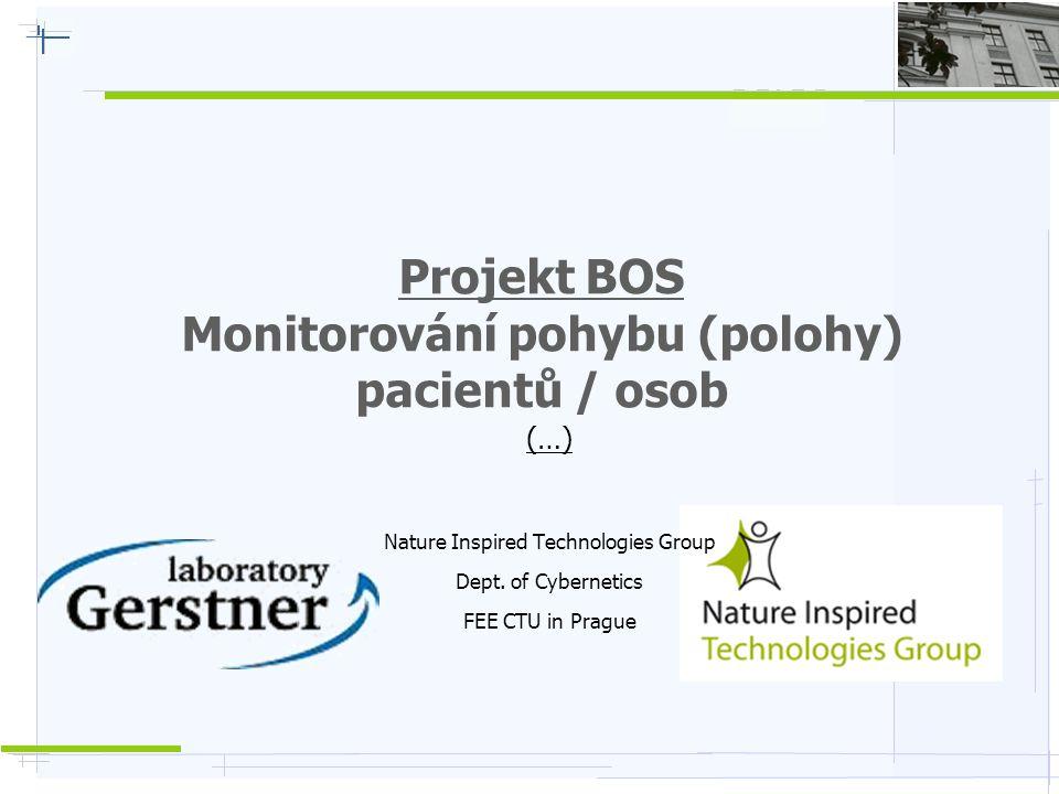 Projekt BOS Monitorování pohybu (polohy) pacientů / osob