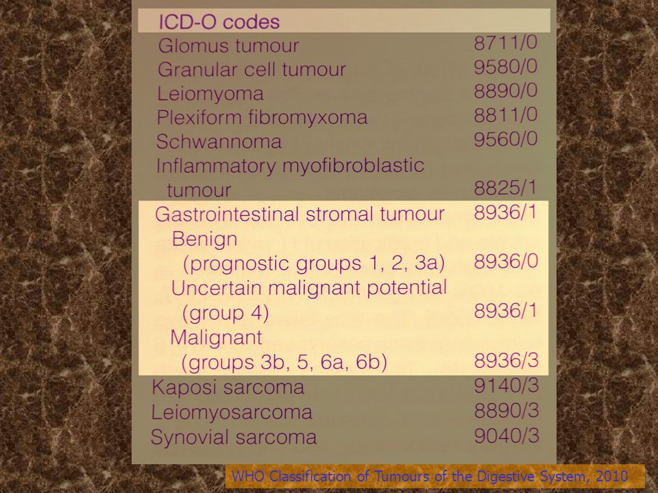 WHO Classification of Tumours of the Digestive System, 2010
