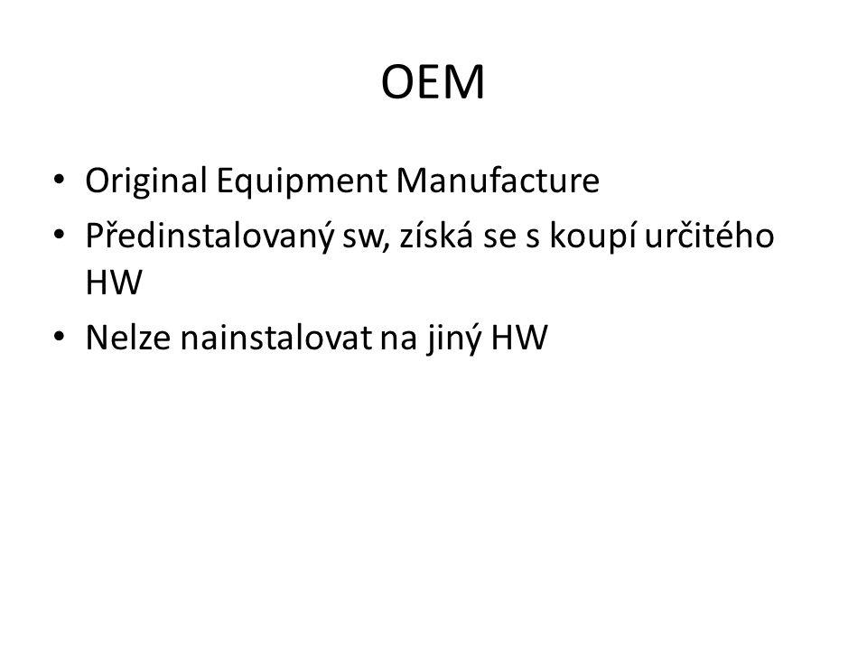 OEM Original Equipment Manufacture