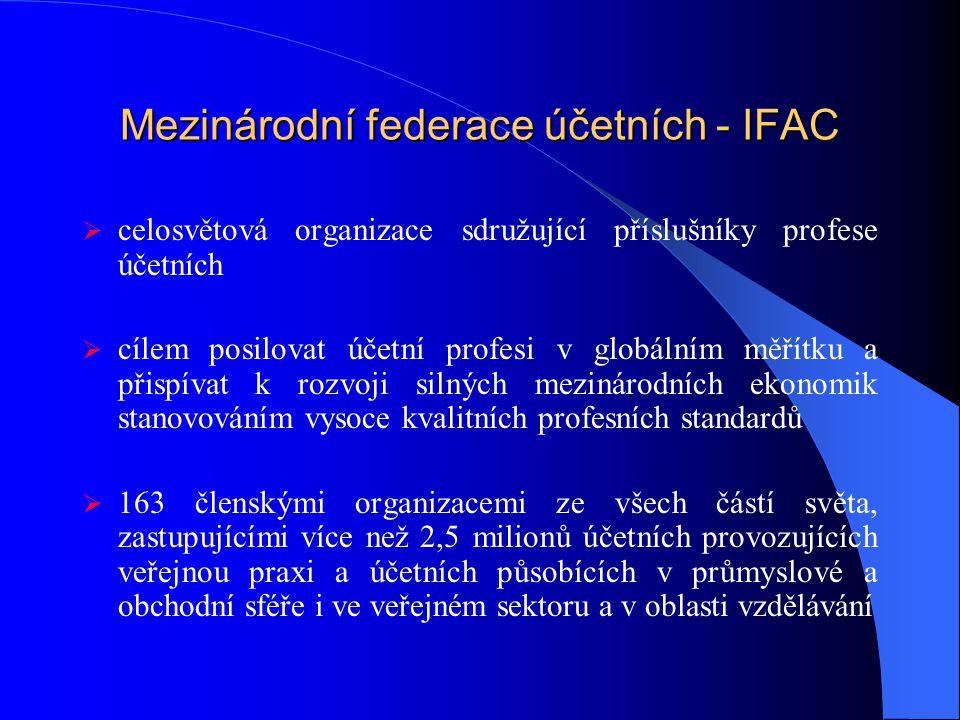 Mezinárodní federace účetních - IFAC