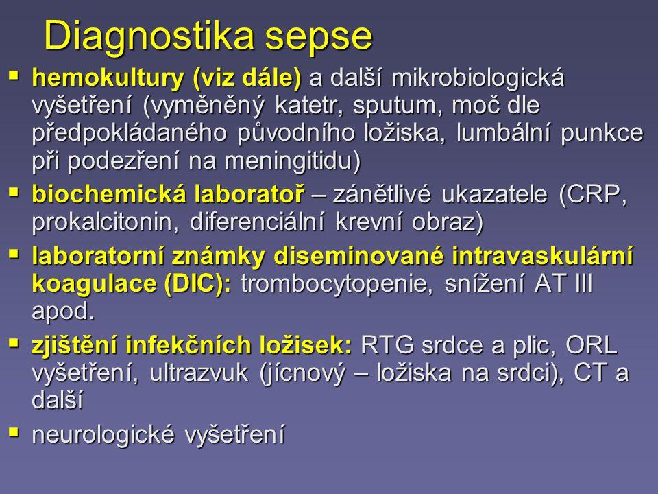 Diagnostika sepse