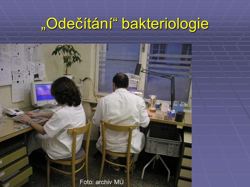 """""""Odečítání bakteriologie"""