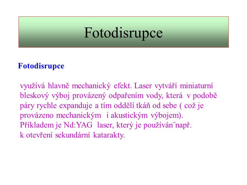 Fotodisrupce Fotodisrupce