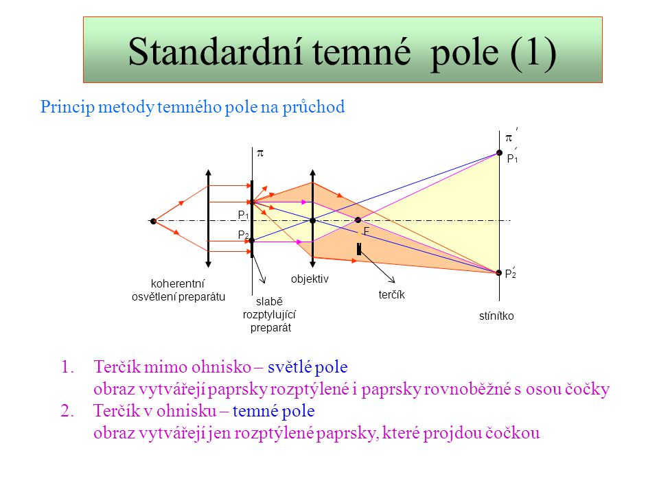 Standardní temné pole (1)