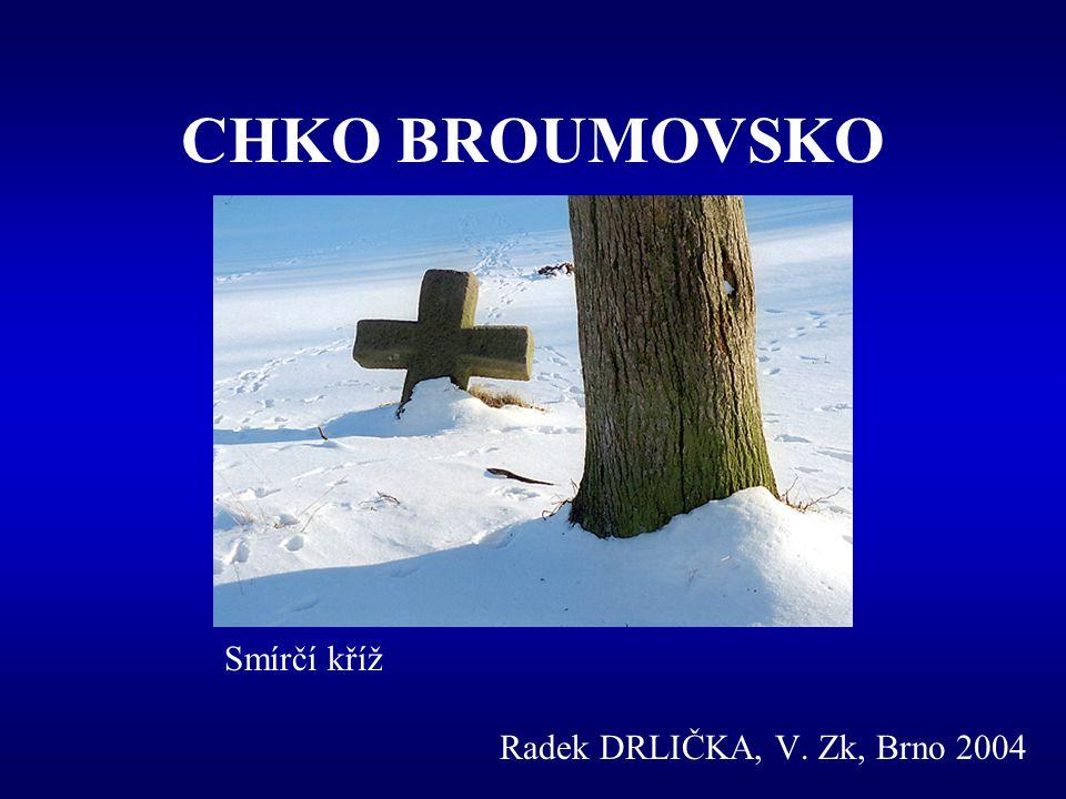 CHKO BROUMOVSKO Smírčí kříž Radek DRLIČKA, V. Zk, Brno 2004