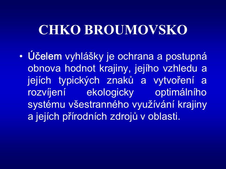 CHKO BROUMOVSKO
