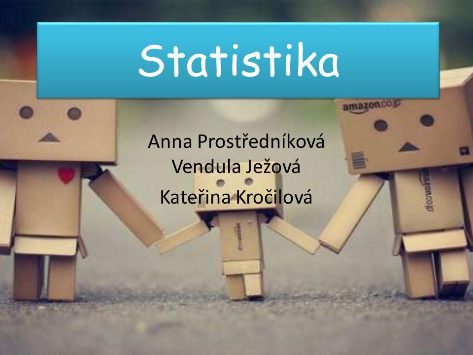 Anna Prostředníková Vendula Ježová Kateřina Kročilová