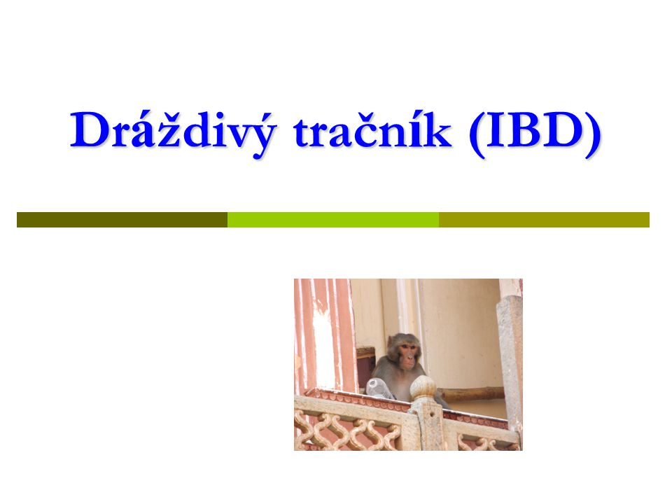 Dráždivý tračník (IBD)