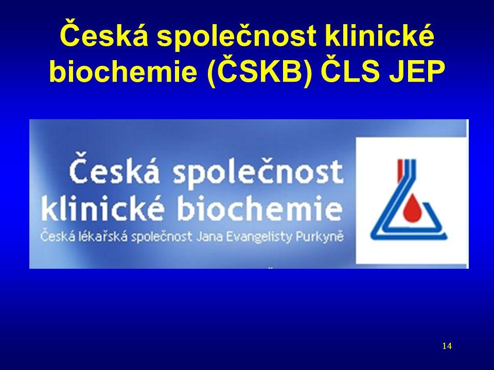 Česká společnost klinické biochemie (ČSKB) ČLS JEP