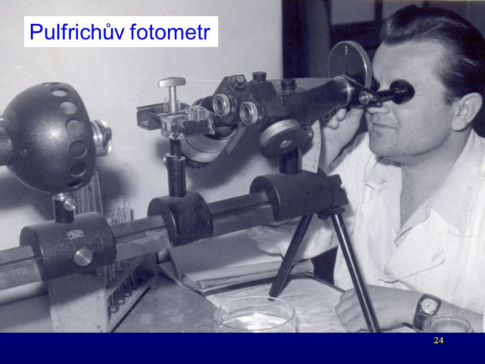 Pulfrichův fotometr PF_uvod KB_2006