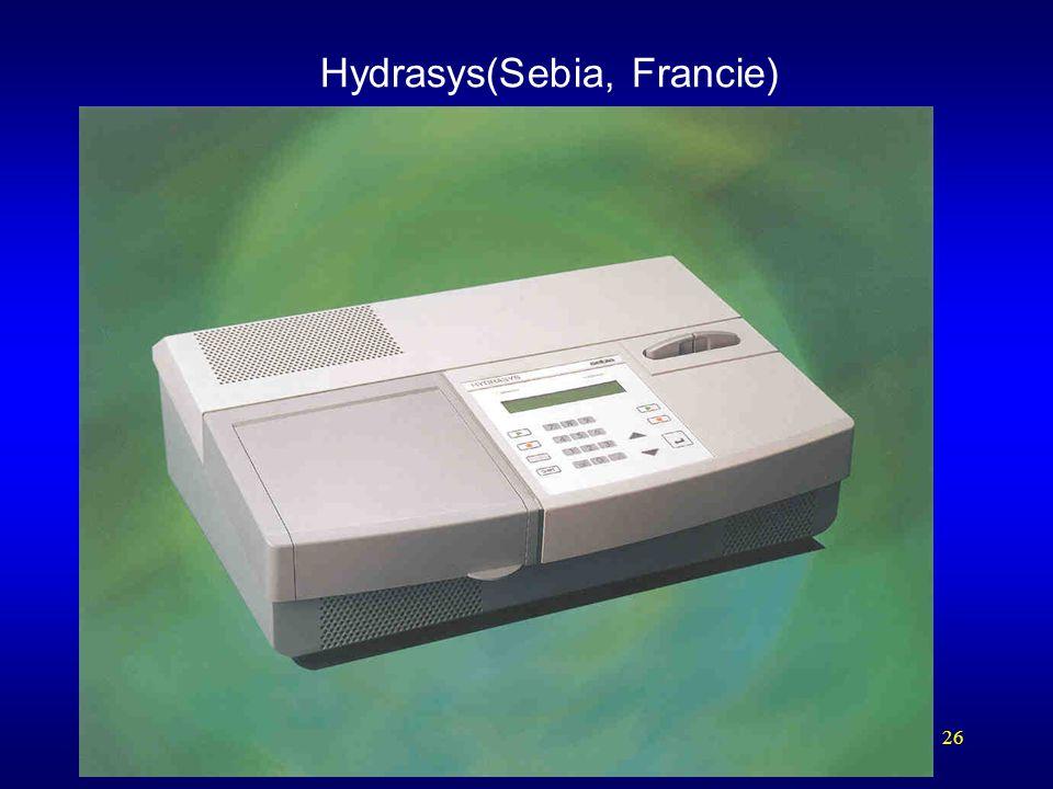 Hydrasys(Sebia, Francie)