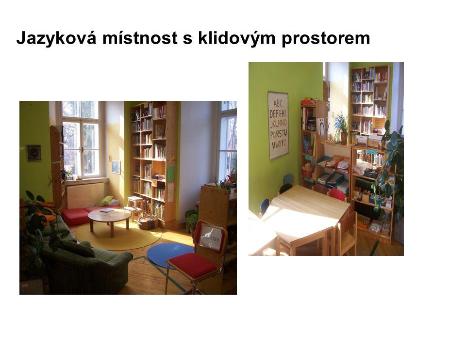 Jazyková místnost s klidovým prostorem