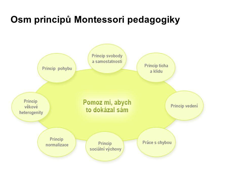 Osm principů Montessori pedagogiky
