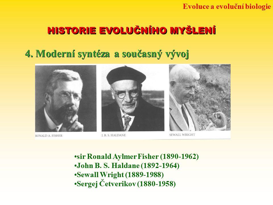 4. Moderní syntéza a současný vývoj