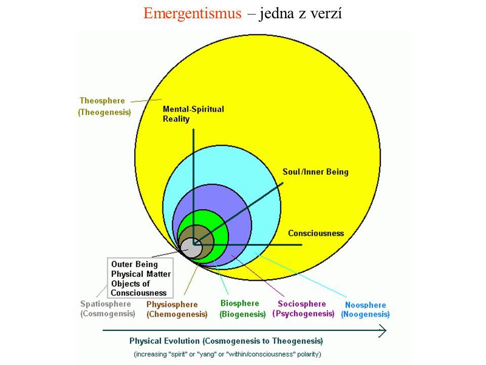 Emergentismus – jedna z verzí
