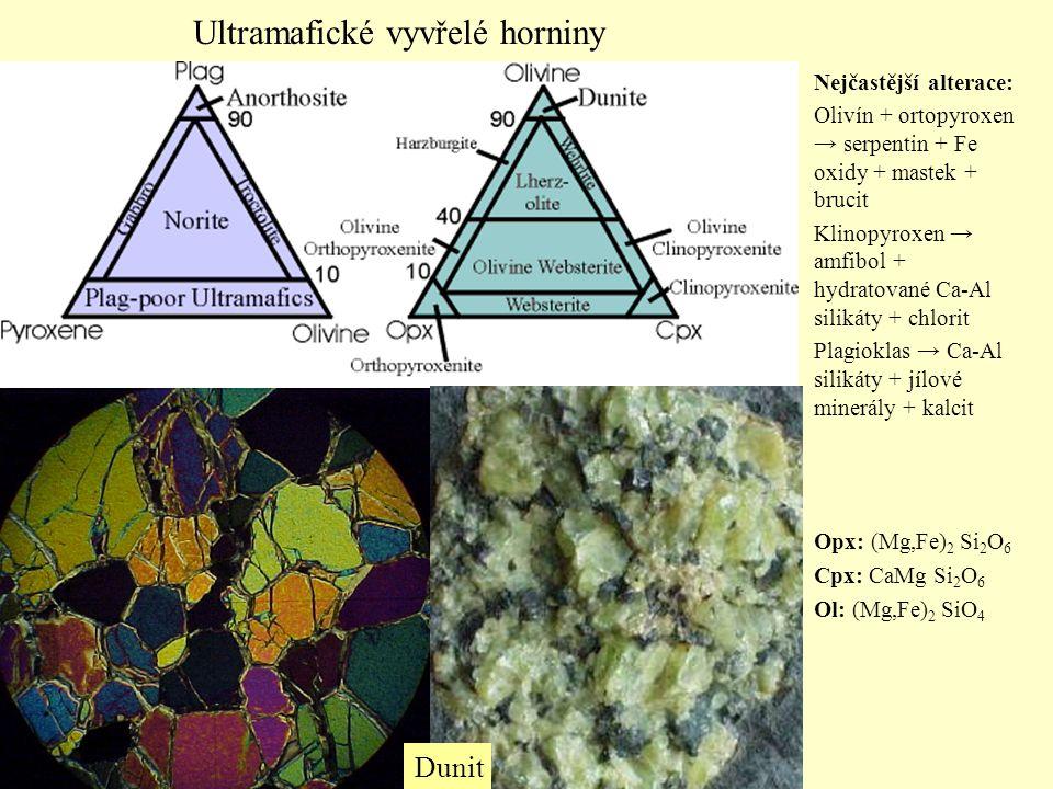 Ultramafické vyvřelé horniny
