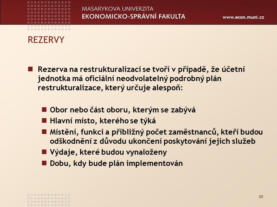 REZERVY