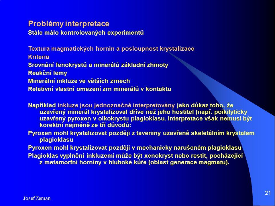 Problémy interpretace