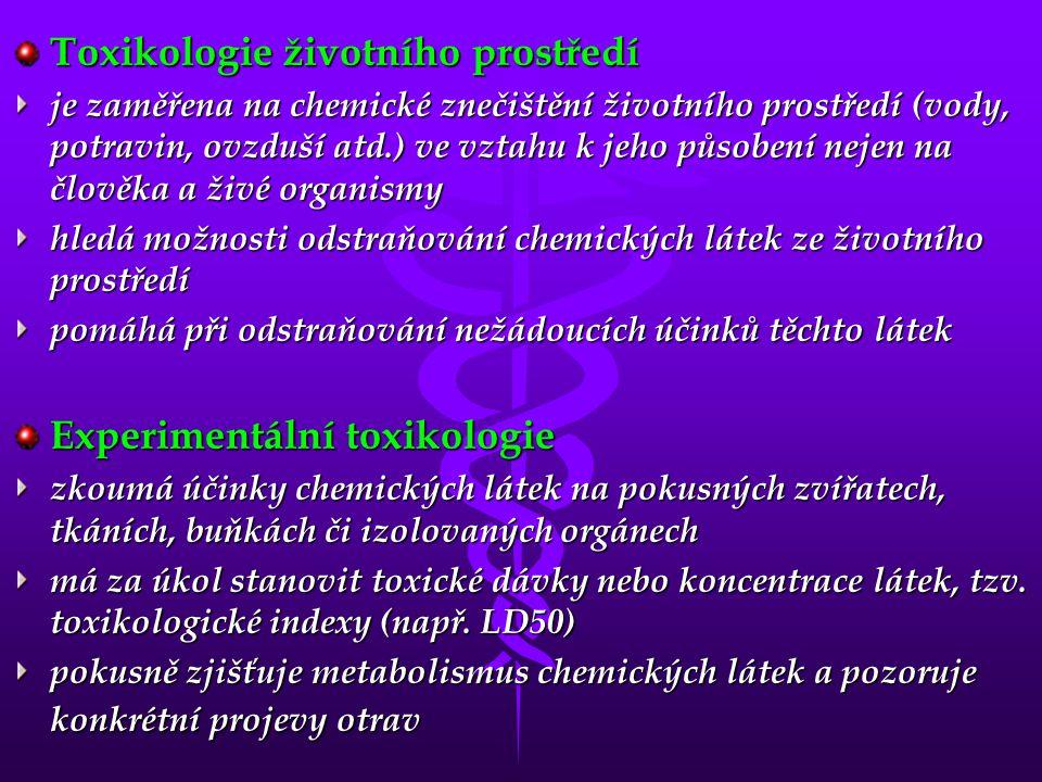 Toxikologie životního prostředí