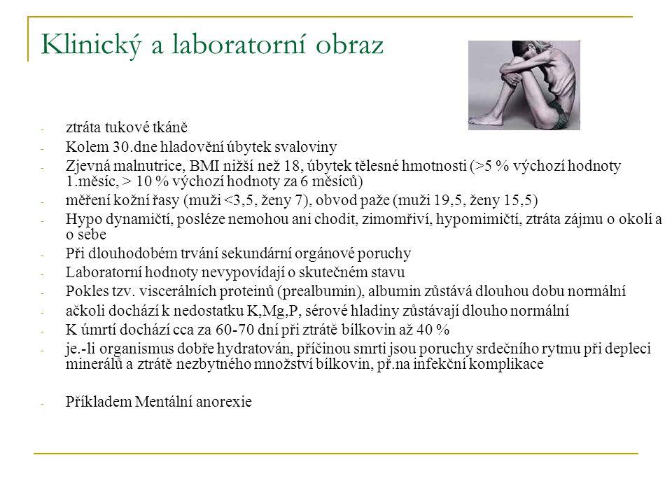 Klinický a laboratorní obraz
