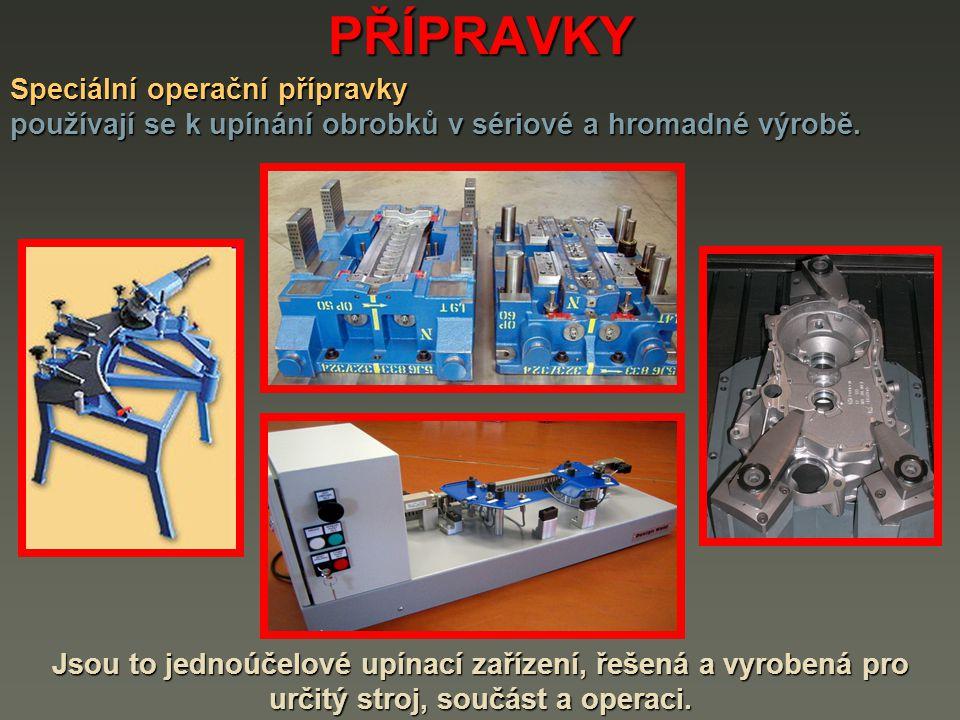 PŘÍPRAVKY Speciální operační přípravky