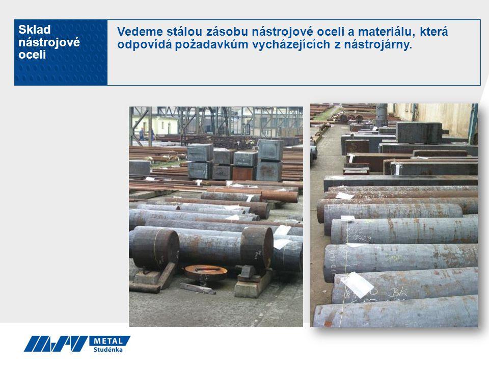Sklad nástrojové oceli