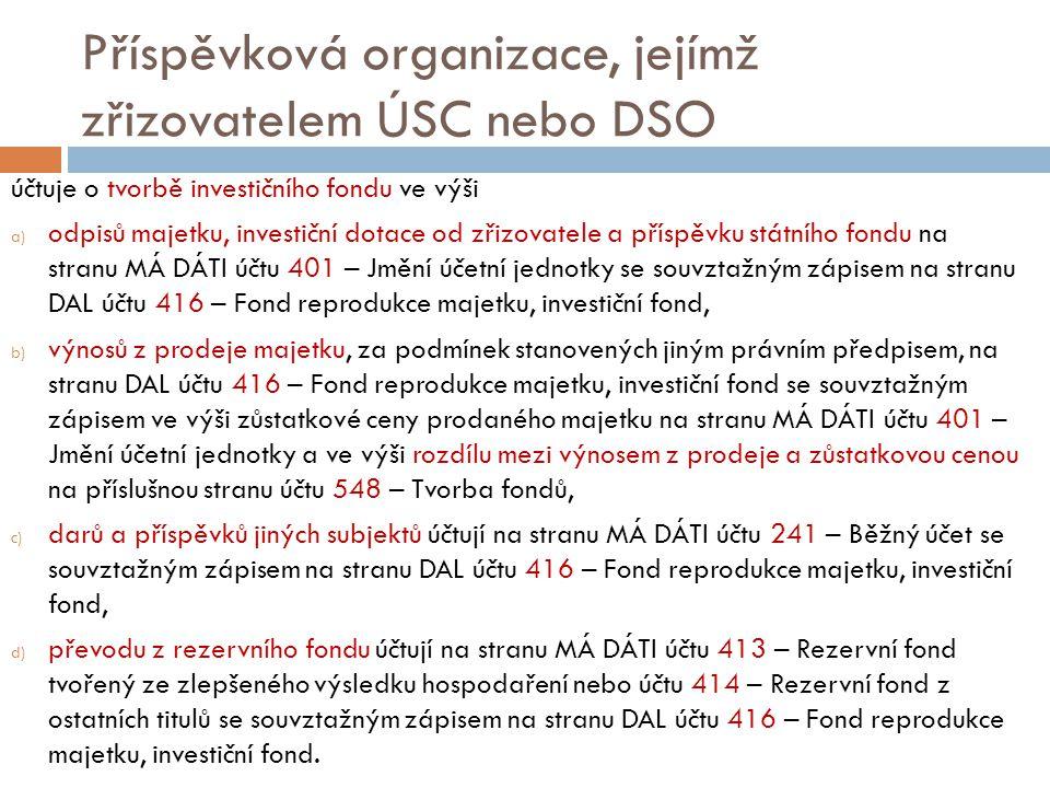 Příspěvková organizace, jejímž zřizovatelem ÚSC nebo DSO