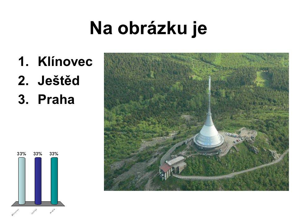 Na obrázku je Klínovec Ještěd Praha