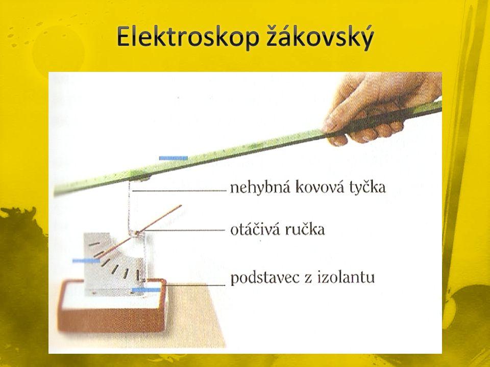 Elektroskop žákovský