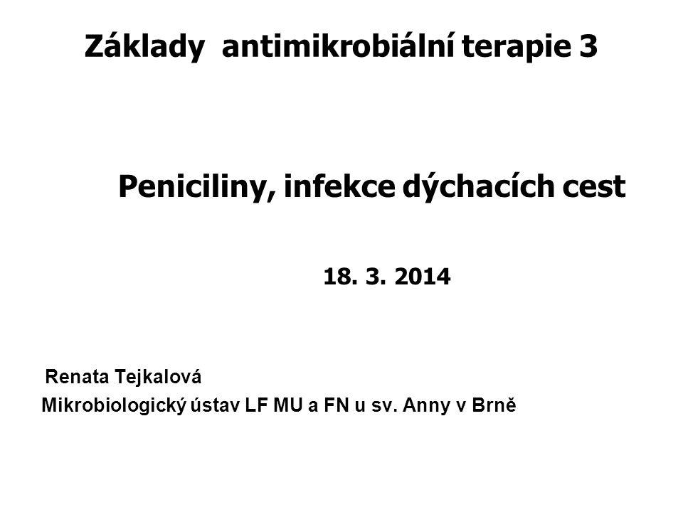Základy antimikrobiální terapie 3