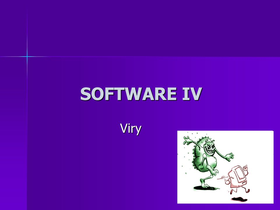 SOFTWARE IV Viry