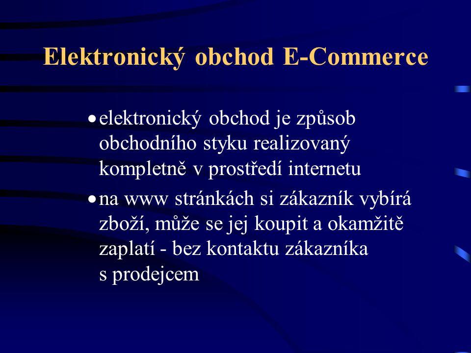 Elektronický obchod E-Commerce
