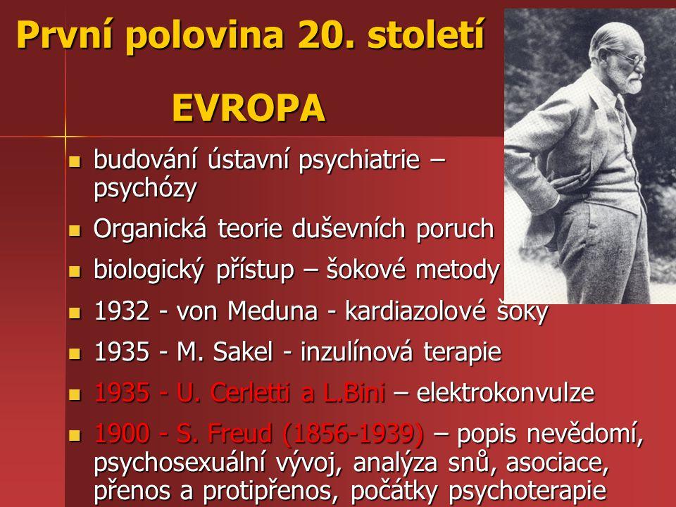 První polovina 20. století EVROPA