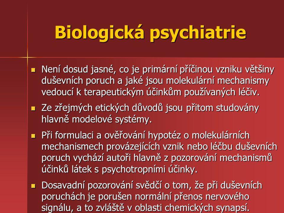 Biologická psychiatrie
