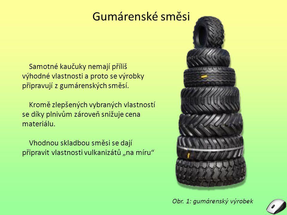 Obr. 1: gumárenský výrobek