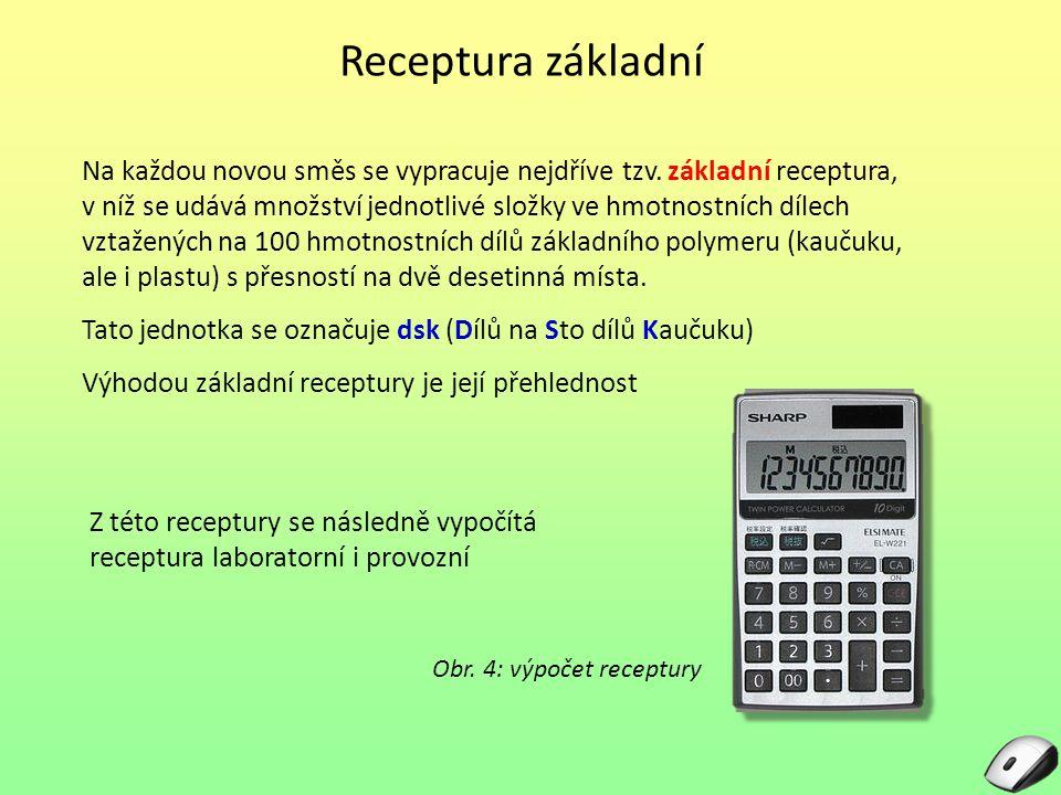 Receptura základní