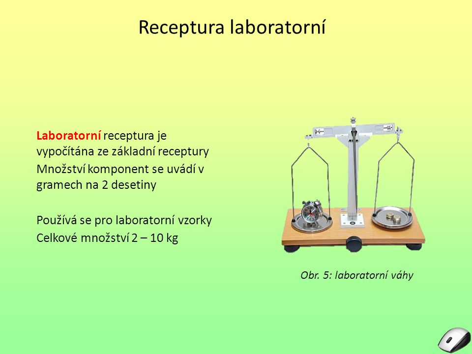 Receptura laboratorní