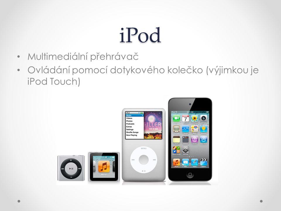 iPod Multimediální přehrávač