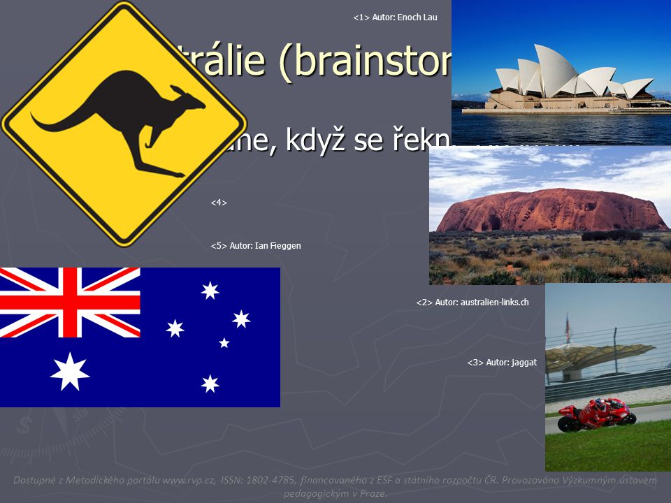 Austrálie (brainstorming)
