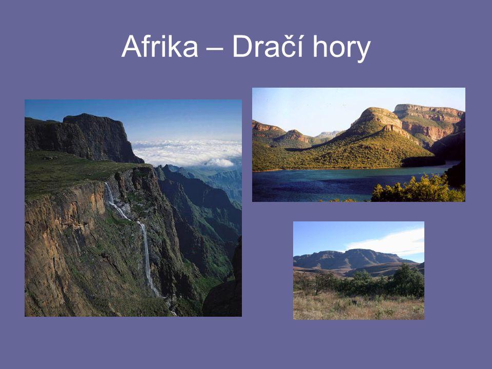 Afrika – Dračí hory