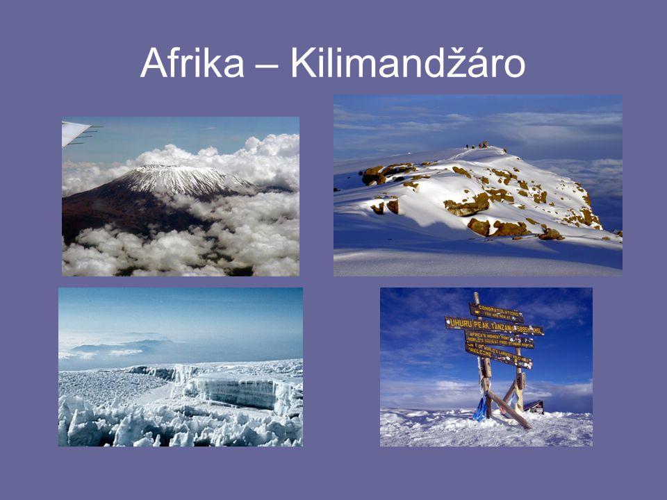 Afrika – Kilimandžáro