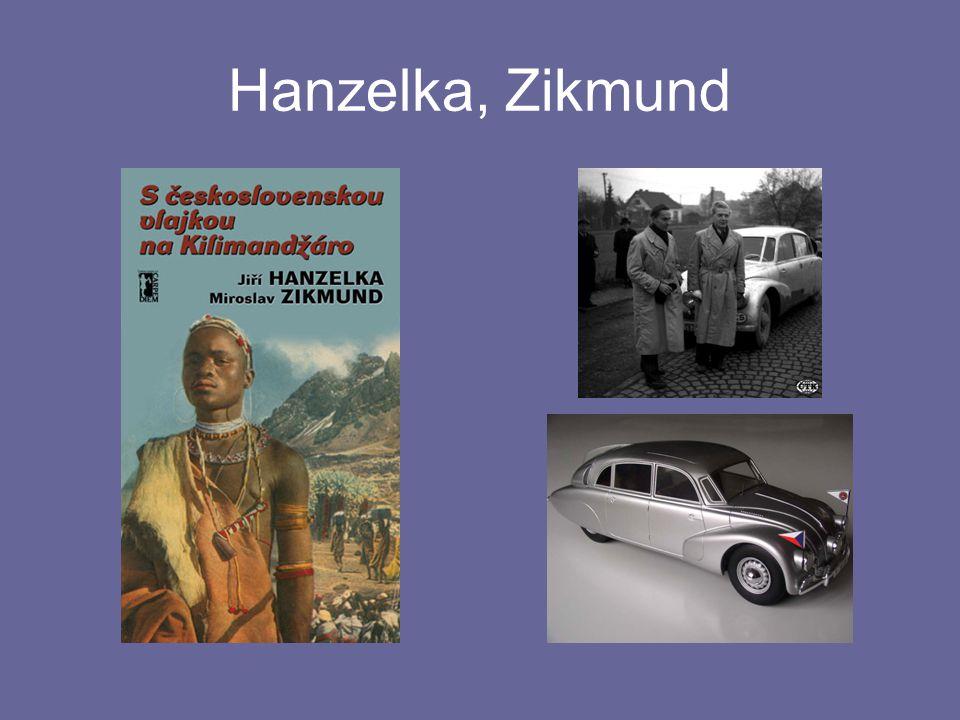 Hanzelka, Zikmund