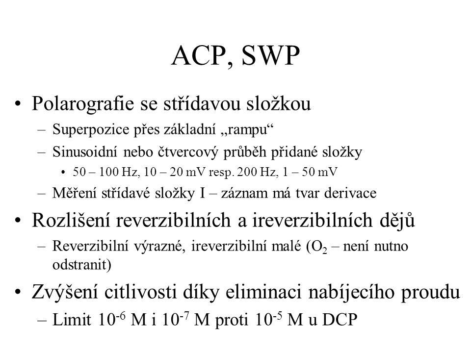 ACP, SWP Polarografie se střídavou složkou
